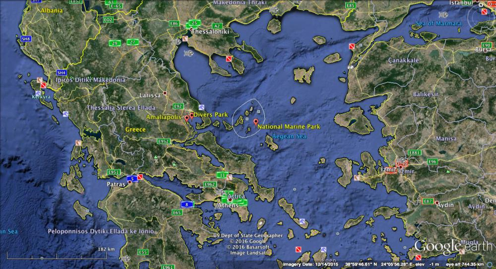 Amaliapolis, an unexplored destination for divers in Greece
