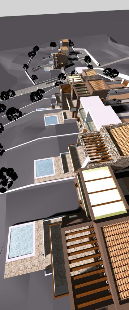 8 Villas for Divers Project  in Amaliapolis Greece