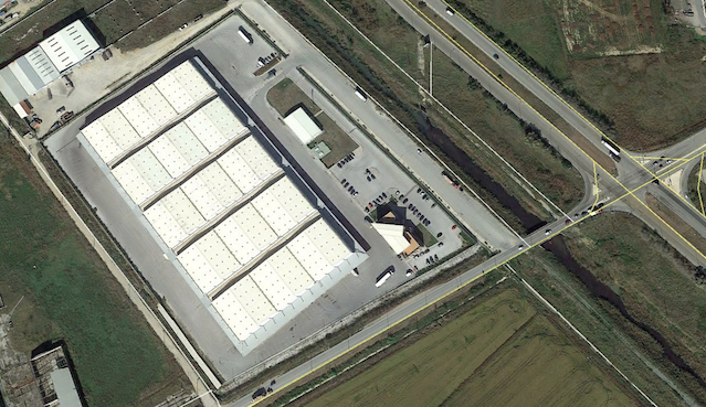 Fully modern and operational logistics facility
