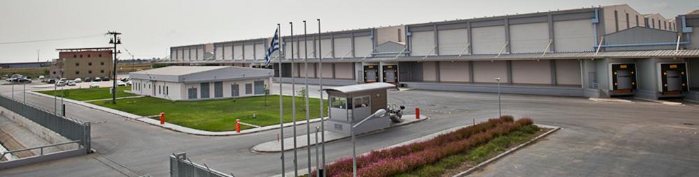 22500 m2 3PL operation logistics